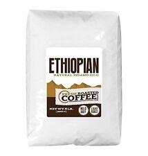 Ethiopian Sidamo Guji Natural Coffee, Whole Bean,Fresh Roasted Coffee LLC (5 lb.