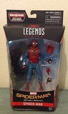 Marvel Legends 6 Inch  Spider-Man Homecoming Homemade Suit Figure In Hand!