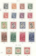 NEW ZEALAND # 288-301 VF-MH  1953-55 QUEEN ELIZABETH II STAMPS + HEALTH CV $117