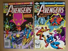 Marvel Comics, Avengers #219 and #220 -- Drax and MoonDragon saga! (1982)