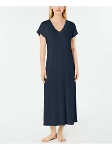 CHARTER CLUB Intimates Navy Solid Everyday Nightgown Size: M
