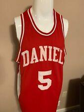 Pistol Pete Maravich Daniel High School 60 Of 75 Mens Basketball Jersey Sz 56