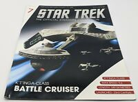 Eaglemoss Star Trek MAGAZINE ONLY *No Ship* # 7 KLINGON K'T'INGA CLASS BATTLE