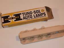 Lot of 7 New Vintage Auto #1155 Lamps Car Bulbs Tung-Sol 12v, plus 2 other bulbs