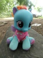 My Little Pony Rainbow Dash 2011 Baby With Rubber Head Talks By Hasbro