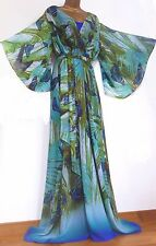 MONSOON ✩ STUNNING & RARE HUMMINGBIRD KAFTAN / KIMONO BUTTERFLY DRESS ✩ SIZE 10