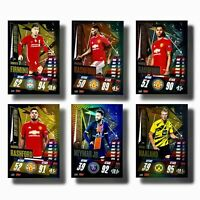 Match Attax 20 21 Champions League and Extra, Messi XXL, Limiteds, 100Club Teams