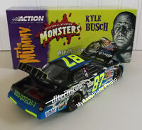 Kyle Busch #87 Action NASCAR Diecast Car _ DITECH MONSTERS MUMMY ROOKIE STRIPES