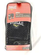 Everlast 7778Bsm Pro Style Grappling Black Gloves Size S/M - Dk2_67
