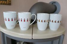 4 LINDT Tassen Ostern Goldhase Weihnachten