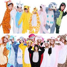 Adulti bambini Animale Pigiama/Pantofole Biancheria da notte kigurumi cosplay
