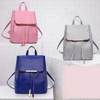 Women Backpack Travel PU Leather Handbag Rucksack Girls Shoulder School Bags LOT