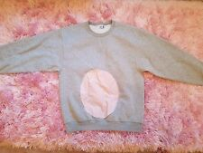 Unisex Fruit of the Loom Sweatshirt - Mouse/Cat/Bunny Costume - Size L