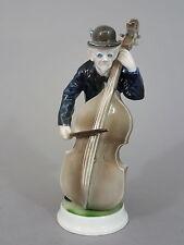Rosenthal Musikanten Figur 'Bassgeiger', Entwurf Karl Himmelstoss, Mod.Nr. 192