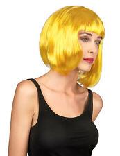 Perruque jaune  femme Cod.37723