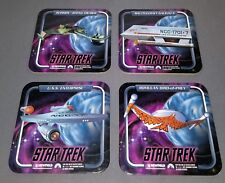 Star Trek Beverage Coasters- Set Of 16 The Ships From Tv Series