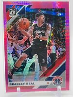 2019-20 Donruss Optic Basketball BRADLEY BEAL Hyper Pink Prizm #109 Wizards
