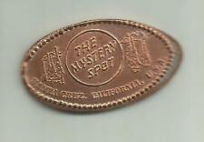 Mystery Spot Santa Cruz Ca Retired m#3 Elongated penny (cent) zinc coin