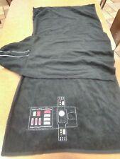 Disney Star Wars Darth Vader Hooded Towel Childs Bath Embroidered Kohls SEE SCAN