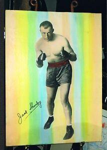 OLD RARE JACK SHARKEY 30x40 large format boxing photo 1930 World Champion boxer