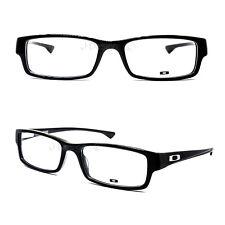 Oakley servo OX1066-0155 Polished Black 55/18/140 Eyeglasses Rx - New