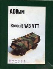 ADV Mini 1:72 Renault VAB VTT Resin Model Kit #72001