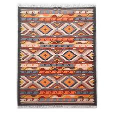 Genuine Handmade Afghan Nomadic Tribal Multi Wool Large Kilim Rug 180x270cm