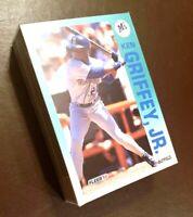 50) KEN GRIFFEY JR Seattle Mariners 1992 Fleer LOT Baseball Card #279