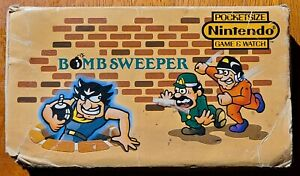 1987 Nintendo Game & Watch Bomb Sweeper Multi Screen Handheld Game POWER ISSUES