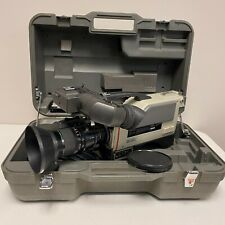 Sony DXC-3000A Television Color Video Camera W/ Lens and Case Tested #2