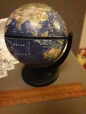 World globe on stand ht 20cm desktop