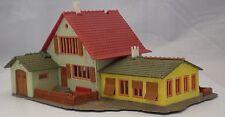 Vintage Plastic HO Building - Faller Roadside Cafe / Garage / Hostel