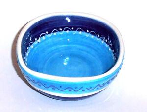 Spanish Ceramic Handpainted Round Bowl 11cm
