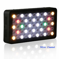 Dimmable 165W  Led Aquarium Light for home tank fersh water coral reef fish lamp