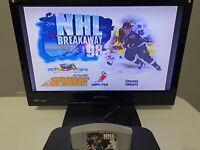 NHL Breakaway 98 Nintendo 64 (N64) Game, Tested & Cleaned - Free Shipping!