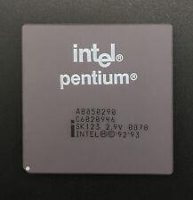 Intel Pentium A8050290 Processor SK123 90MHz Socket7 2.9v Low voltage Rare Sspec
