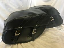 Triumph Leather Saddlebags with hardware for America, Thunderbird, Speedmaster