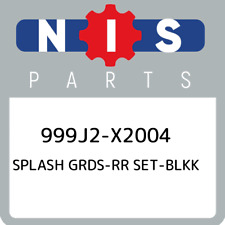 999J2-X2004 Nissan Splash grds-rr set-blkk 999J2X2004, New Genuine OEM Part
