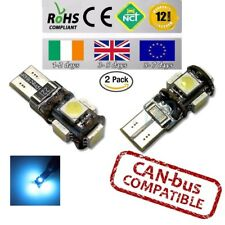 2x CanBus LED No Error 8000k HID Ice Blue T10 w5w 501 194 Parking Side Lights
