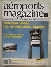REVUE AEROPORT 243 AVIATION CIVILE NANTES CAMEROUN CAMEROON IRLANDE AER LINGUS