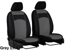 Renault Espace 2002-2014 Eco Cuero Tailored Fundas Delantero hecho a la medida