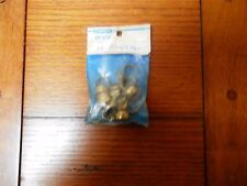 """!4  Cafe  Curtain  Rings  / Stanley / 22-3132 / Brass Finish / 1/2"""""""