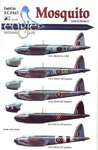 EagleCals Decals 1/48 DE HAVILLAND MOSQUITO B.Mk.IV & PR.Mk.IV