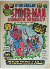 SPIDER-MAN COMICS WEEKLY #1-MARVEL COMICS UK-JOE SINNOTT & LARRY LIEBER SIGNED