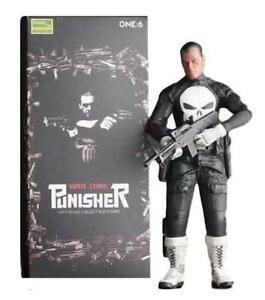 "Punisher Frank Castle 1/6 Scale Crazy Toys 12"" Figure DC Comics Empire Marvel"