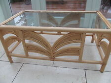 Wicker Conservatory Coffee Tables without Assembly Required