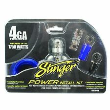 4 Gauge High Quality Tru Spec Power Amp Install Kit Wire 1750 Watts Accessory