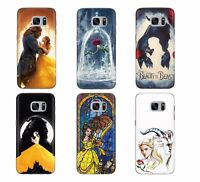 BEAUTY AND THE BEAST BELLE ROSE DISNEY PHONE CASE COVER FOR SAMSUNG GALAXY J A J