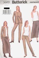 Pattern Butterick Sewing Woman Jacket Top Skirt Pants Sz 12-16 Very EASY OOP NEW