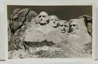 RPPC Mount Rushmore National Memorial in The Black Hills S Dakota Postcard L10